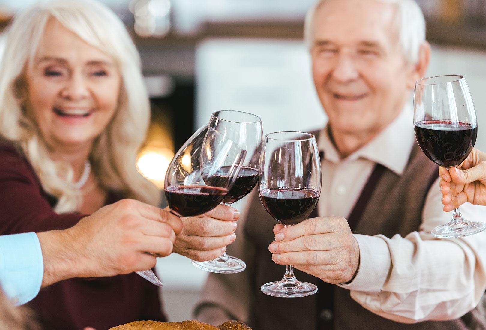 Weinproben für Senioren